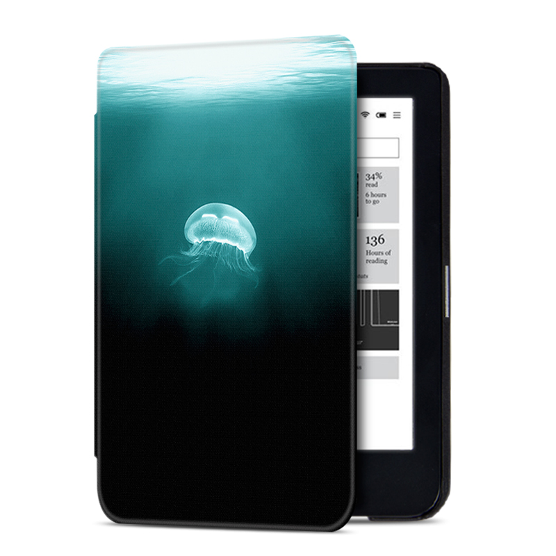 AROITA Magnetic Smart Cover Case Fits New 6 inch Kobo Clara HD E-reader with Auto Wake/Sleep for kobo clara hd Ultrathin