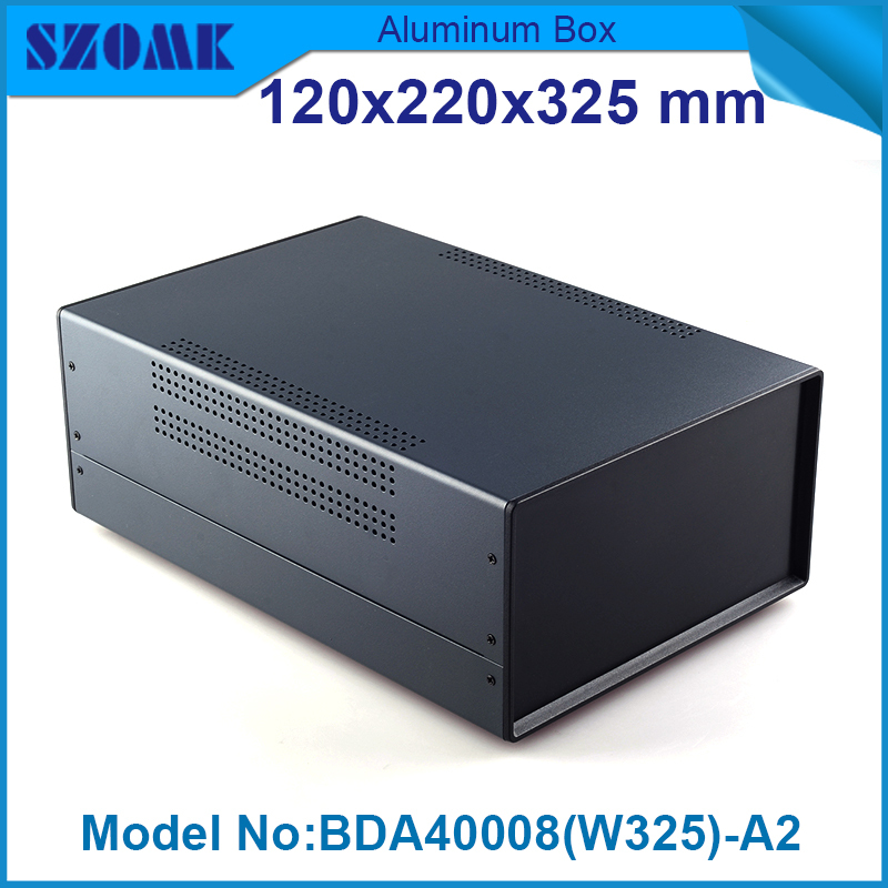 4 pcs/lot abs plastic electronics enclosure extruded enclosure electronic 119x219x325 mm plastic box case electronic project electronic enclosure waterproof 4 pcs 95 65 55mm enclosure for electronics plastic case ip68 plastic project box pcb enclosure