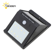 TSLEEN Led Solar Light Outdoor Street Light Solaire Lampe Lighting Solaire Jardin Luminaria de Parede Led Energy Saving Lamp
