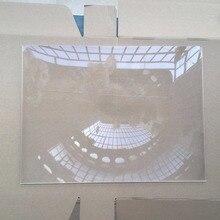 1pcs/lot big size 400*300MM Rectangle DIY projector Fresnel Lens Focal length 510 mm High concentrated lens