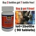 Купить 3 получить 1 бесплатно! 100% травы экстракт МАКА лучше улучшения здравоохранения ужин пищевой 90 таблетки МАКА Перу для мужчин и женщин травы/50