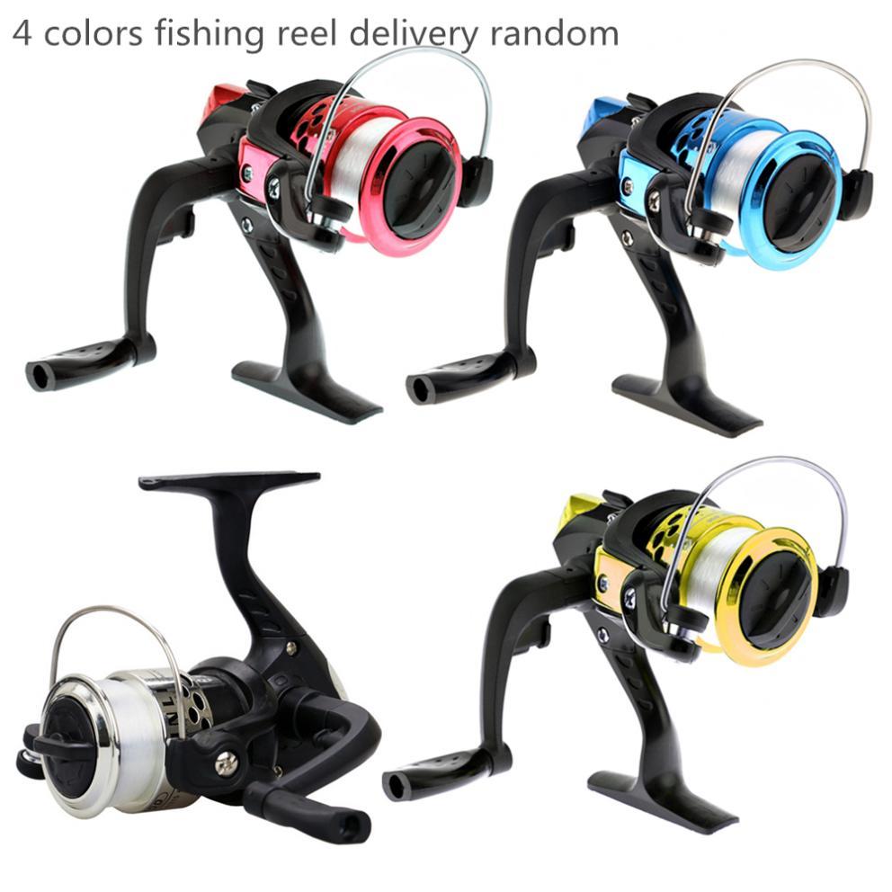 Vara de pesca telescópica portátil combo kits