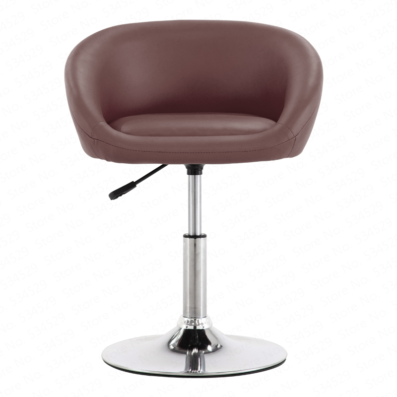 Best Quality Bar Chair Lifting Chair Home Swivel Chair Nail Beauty Stool With Backrest Makeup Chair High Stool Dining Chair
