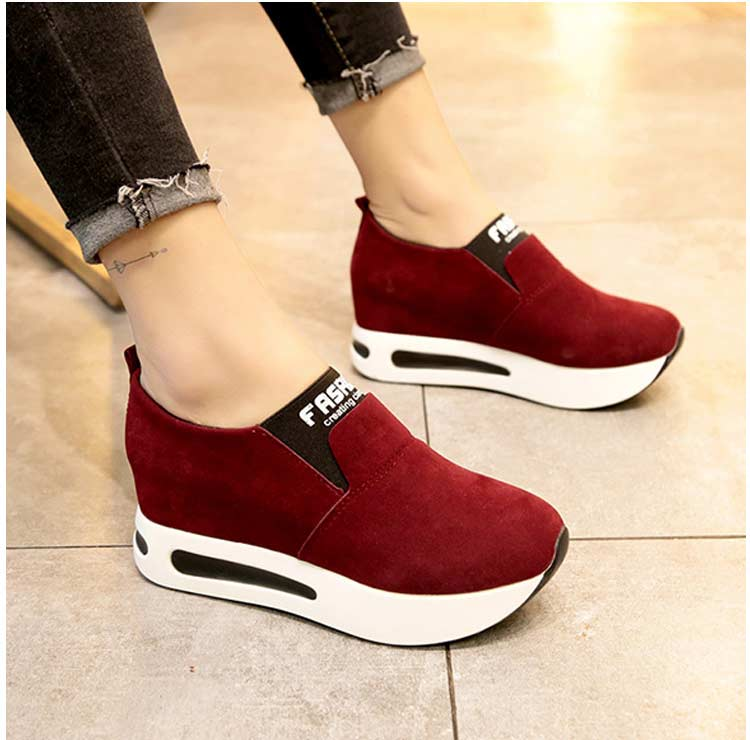 Vulcanize shoes women casual shoes 2019 new fashion solid pu women sneakers slip-on breathable shoes woman zapatos de mujer (18)