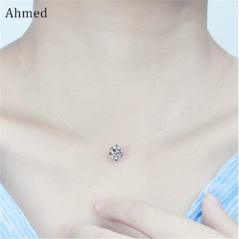 Ahmed Transparent Rhinestone Pendant