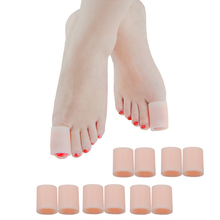 2Pcs/lot Feet Care Silicone Gel Tube Bandage Finger & To