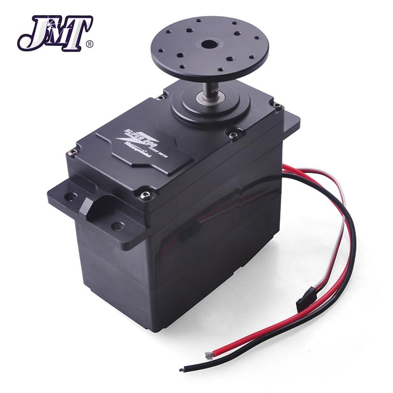 JMT SUPER200 300 Servo en métal à couple élevé 12 24 V 200kg. cm/300kg. cm 0.5 S/60 degrés BEC 5 V pour bricolage grand bras de Robot