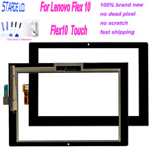 Original 10.1 For Lenova Flex10 Flex 10 Touch Screen Digitizer Panel Sensor Tablet Replacement+ Free Tools and Adhensive original new touch screen panel digitizer glass sensor replacement for bravis np81qc tablet free shipping