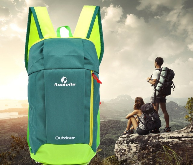 1c5e1af3324c 2018 Nylon Waterproof Outdoor backpack travel rucksack running back pack  Men sports mountaineering bag women bike