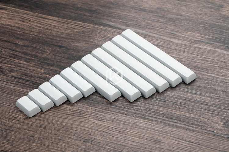 Xda boş dışbükey boşluklu gri 1.75u 2u 2.25u 2.75u 3u 4.5u 5.5u 6u 6.25u 6.5u 7u boş tuşlar xd60 xd64 xd84 xd75 gh60 60%