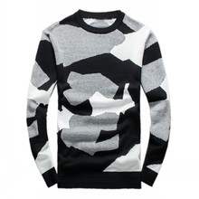 2016 Men's new arrival fashion printed keep warm high quality 95% woolen sweater,M,L.XL.XXL.
