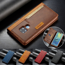 Luxury Flip Stand Leather Case for Huawei Mate 20 Coque Wallet Phone Cases P30 Lite P20 Pro Shockproof Cover