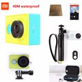 Original Xiaomi yi Action Camera Xiao yi WiFi Xiaoyi mi Sport Camera 1080P 16MP 60FPS WIFI Ambarella Bluetooth Waterproof DV Cam