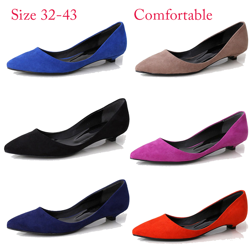 d8595a4217 2015 Plus size 33 43 10 women Shoes Women's flats Red Ballerina Flats  Leather Ballet Flats Womens Nude Purple Jelly Color Flats-in Women's Flats  from Shoes ...