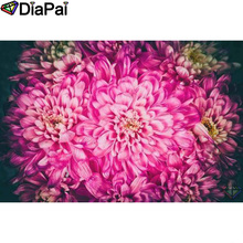DIAPAI Diamond Painting 5D DIY 100% Full Square/Round Drill Flower landscape Diamond Embroidery Cross Stitch 3D Decor A24379 diapai 100% full square round drill 5d diy diamond painting flower landscape diamond embroidery cross stitch 3d decor a21095