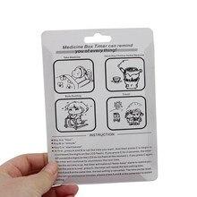 Mini Portable Timer Alarm Pill Box