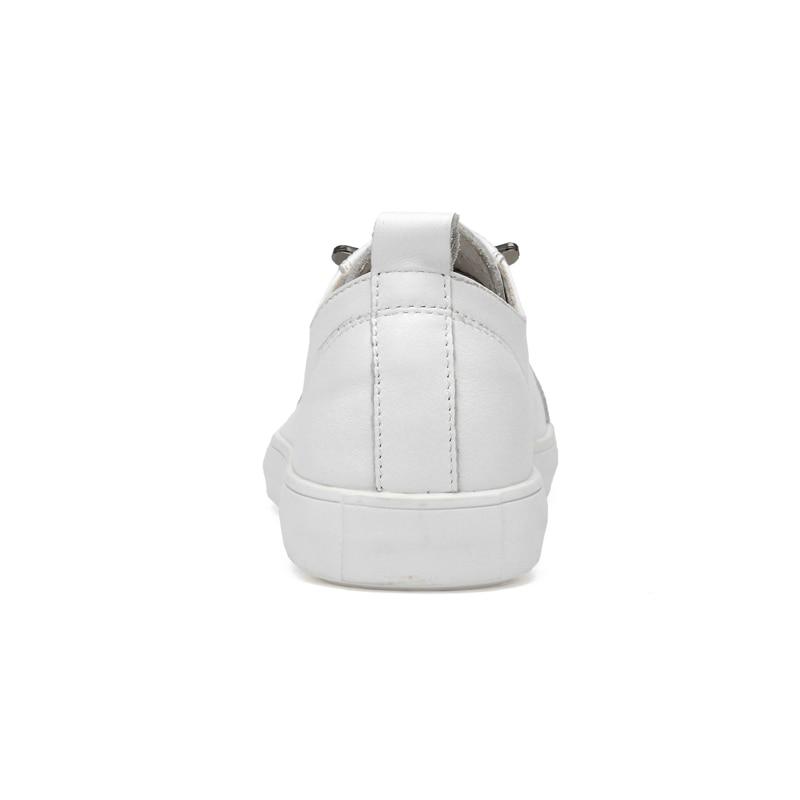 Genuíno Desgaste Adultos oposição De Não Outono Couro Masculinos Moda Sapatos Design Casuais Sneakers Homens Preto branco Calçados slip Para Baidly AOqfw5x1SS