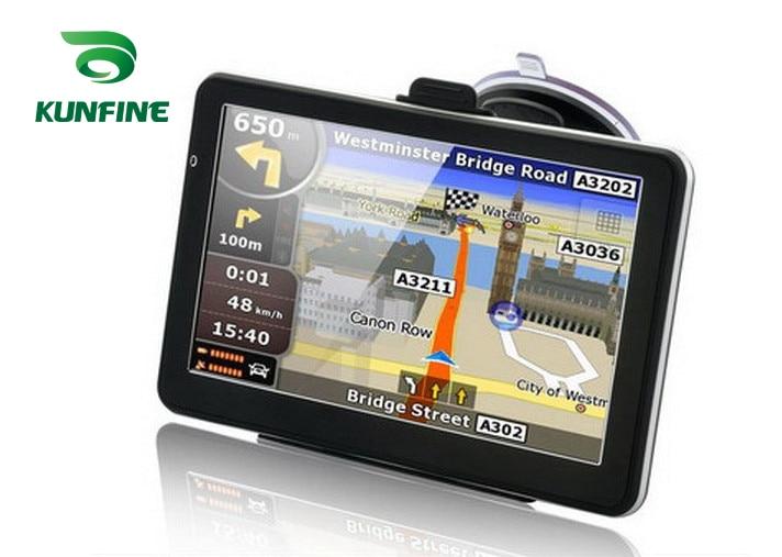 7 Inch Win CE 6 0 Car GPS Navigation Radio 8GB 256M Truck Vehicle GPS Navigators