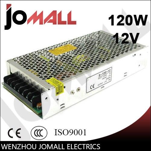 Free Shipping  12V 10A 120W switching power supply professional switching power supply 120w 12v 10a manufacturer 120w 12v power supply transformer