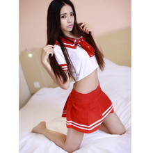 Hot Sale Classical Plaid School Uniform Sexy Lingerie Cute Style Sweet Girl Student Outfit Temptation Exotic Apparel Unique Gift