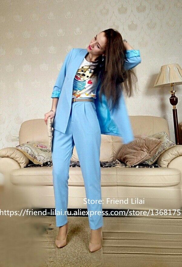 Venta de gota Trajes de pantalón Mujeres Trajes de negocios de - Ropa de mujer - foto 4