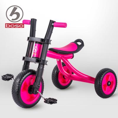Niños triciclo bicicleta de los niños los regalos del bebé para niños coche de juguete bicicleta equilibrio entre hombres y mujeres