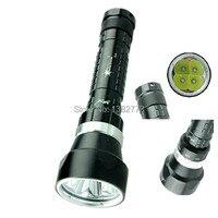 DX4 6000 Lumen Taschenlampe 100 mt 3 Modi 4 xCREE XM L U2 LED Tauchen Taschenlampe Taschenlampe power durch 2x18650/2x26650-in LED-Taschenlampen aus Licht & Beleuchtung bei