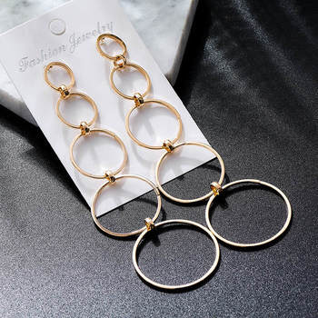 Fashion Metal Dangle Earrings Earrings Jewelry Women Jewelry Metal Color: M38172