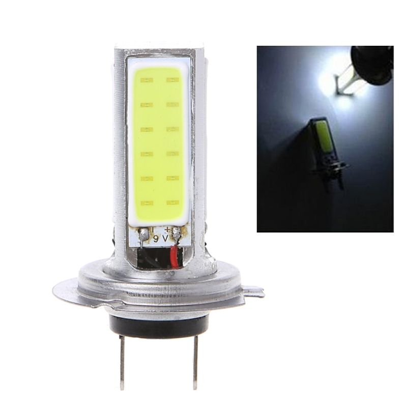 все цены на Super High Power COB 20W H7 LED White Car Light Lamp Bulb for Fog Driving / DRL в интернете
