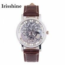 Irisshine B08 марка роскошные часы Унисекс часы леди подарок Женщин людей Имитация Механических Передач Часы