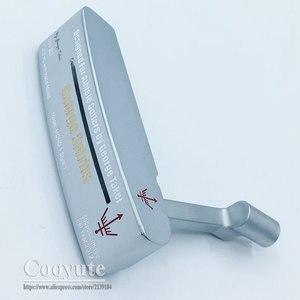 Image 4 - Cooyute新ゴルフヘッドジョージスピリッツMONO1 限定ゴルフパターhaeds tシルバーパタークラブヘッドなしゴルフシャフト送料無料