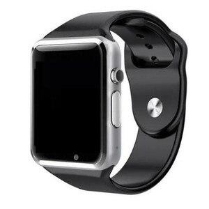 Image 2 - מפעל A1 Bluetooth חכם שעון גברים ספורט מד צעדים עם ה SIM מצלמה Smartwatch עבור אנדרואיד Smartphone רוסיה T15