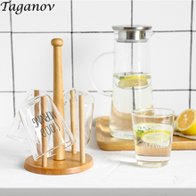 1200ml Glass Teapot kettle Heat Resistant Large Capacity Transparent Drinking Cup 300ml 400ml Cold Drinks Tea Juice