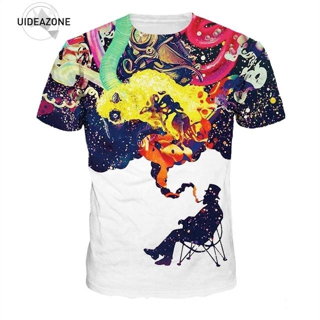 Tee Shirt Hommes Artistique