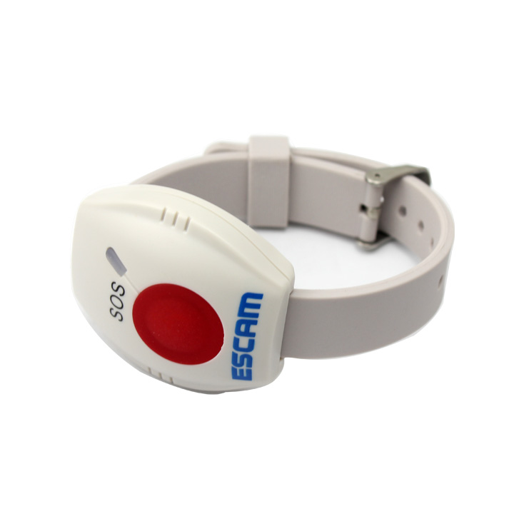 Escam AS004 Alarm Bracelet 433mhz Home Alalrm SOS Key Button Use For Escam IP Camera QF500 QF502 QF510 QF550 QF521 escam sos button use for escam ip camera qf500 qf521 qf502 qf510 qf550 ip cameras