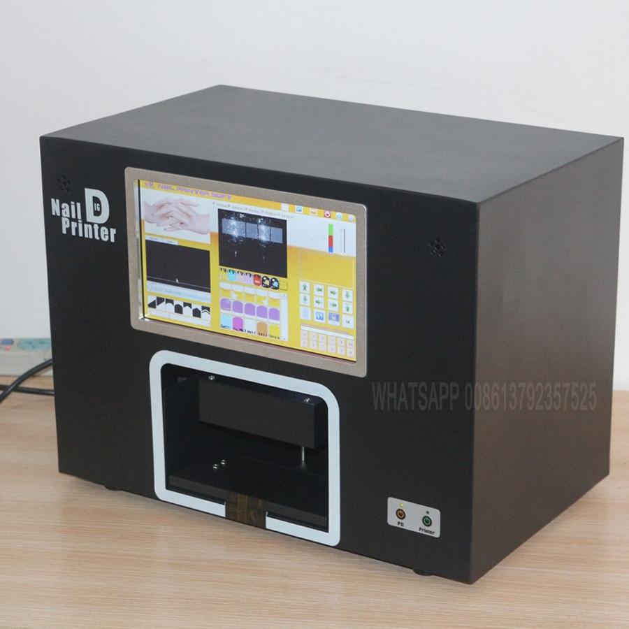 Impresora de uñas real de 5 manos pantalla digital impresora de - Arte de uñas - foto 3