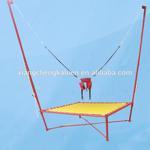 Russia kids bungee jumping single bungee trampoline 4 in 1 bungee trampoline accessories trampoline bungee harness