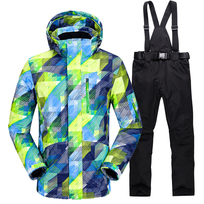 New Hot Ski Suit Men Winter New Outdoor Windproof Waterproof Thermal Male Snow Pants sets Skiing And Snowboarding Ski Jacket Men new hot ski suit men winter new outdoor windproof waterproof thermal male snow pants sets skiing and snowboarding ski jacket men