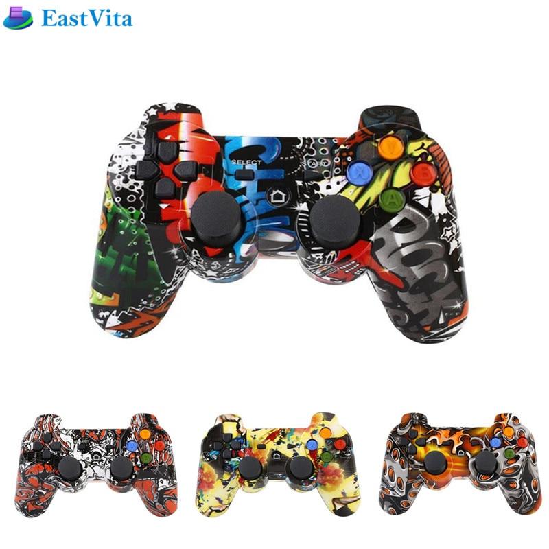 EastVita jeux consoles Pour PS3 Sans Fil Bluetooth Contrôleur de Jeu Pour Playstation 3 Contrôle SIXAXIS Joystick Gamepad