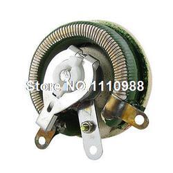 Rany drutu rezystor zmienny 50 W watów 50 Ohm ceramiczne reostat