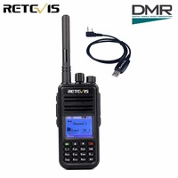 DMR 라디오 디지털 무전기 Retevis RT3 (GPS) UHF 400-480 백만헤르쯔 5