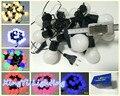 Bola LED cadena luces de hadas guirnalda 5 cm 20 bombilla LED para el partido / jardín / la boda decoración con extender enchufe