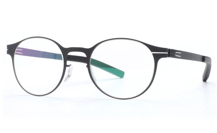 Isenghuo ic design exclusivo marca óculos armação