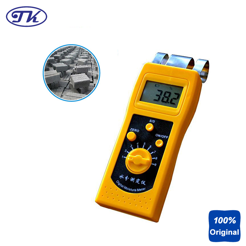 NEW Handheld Moisture Meter Digital Concrete Moisture Tester DM200C skylarpu new for garmin etrex h etrexh handheld gps navigator lcd display screen panel free shipping