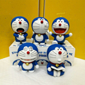 Doraemon Stand By Me 5pcs/set Action Figures 6th Edition Doraemon Doll PVC figure Toys Brinquedos Anime 10CM