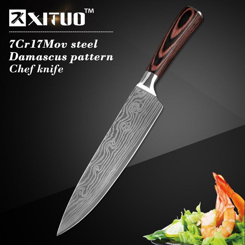 Cuchillos de cocina de alta calidad de 8