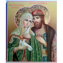 Father And Virgin Diamond Painting Full Mosaic Religion Cross Stitch Home Decoration Embroidery Handicraft Christianity