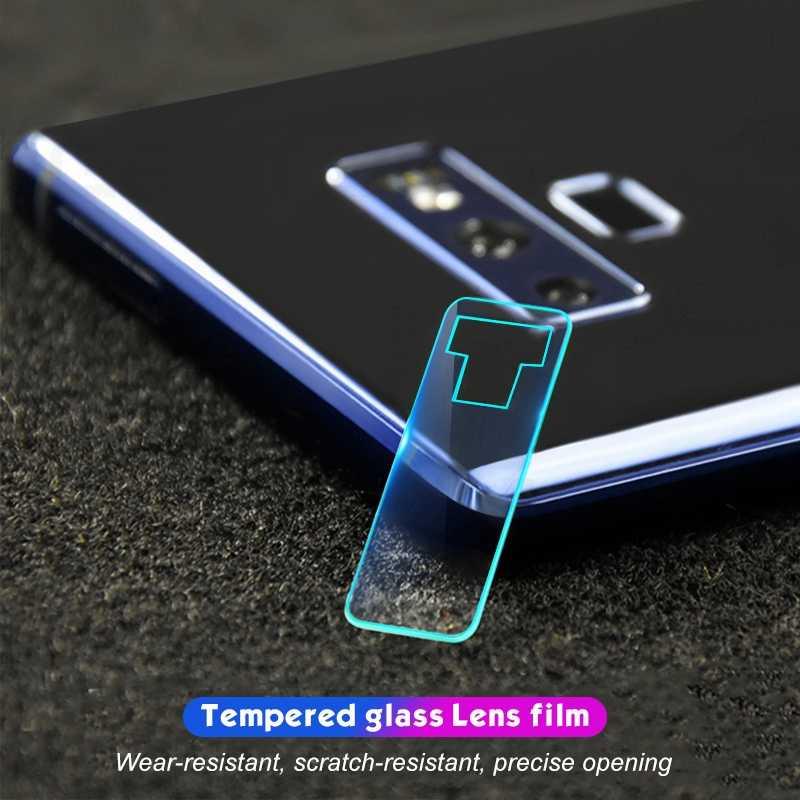 الكاميرا الخلفية عدسة شفافة غطاء كامل الزجاج المقسى لسامسونج غالاكسي S8 s9 plus ملاحظة 8 9 A8 زائد 2018 A6S s9 غشاء واقي