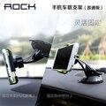 Рок-Универсальный Автомобильный Держатель Телефона Для iphone 6 plus/5s поворотный Для Samsung Note 4 3 2 S6 edge S5 Автомобиль держатель