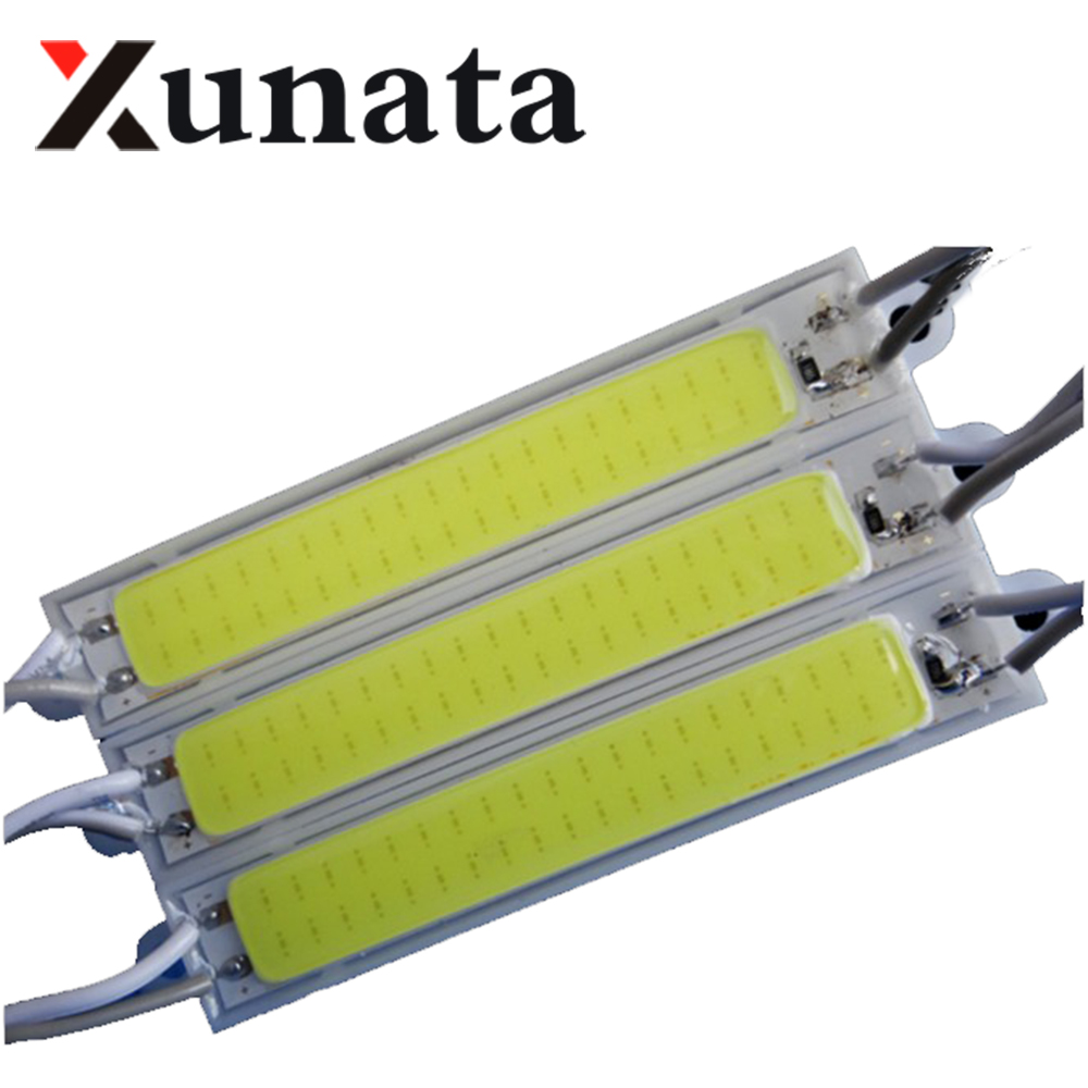 20pcs 1.5W COB led module Light Advertising lamp Led Sign Backlights Epoxy Waterproof 12V warm white/red/blue/Green/Yellow 20w 2000lm 6000k cob led white light module silver yellow 32 36v